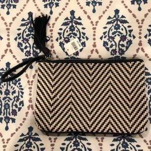 Banana Republic Woven Clutch